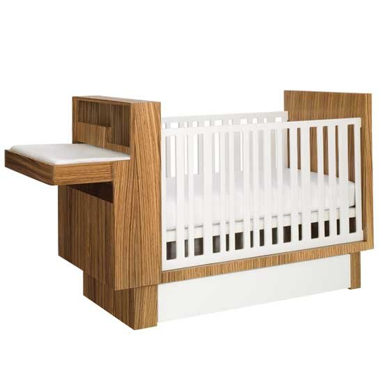 A Design Aficianadou2019s Guide to Modern Baby Cribs : Cantilever Design